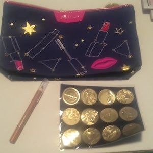 Estee Lauder new makeup bag with zodiac signs and